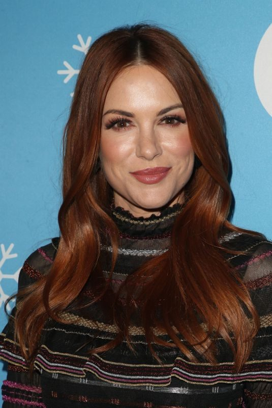 DANNEEL HARRIS at Gingerbread House Experience in Los Angeles 11/14/2018