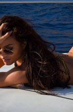 DAPHNE JOY in Bikini at a Boat in Italy 11/12/2018