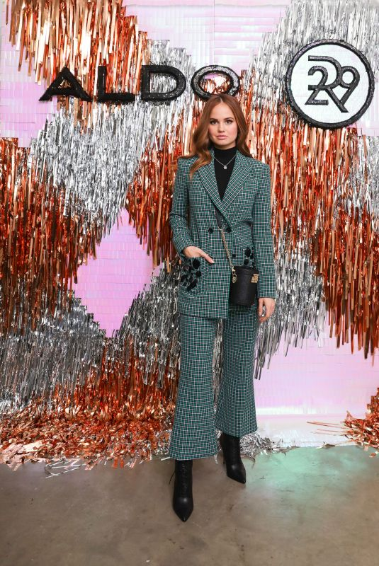 DEBBY RYAN at Aldo x Refinery 29 Holiday Dinner in New York 11/15/2018