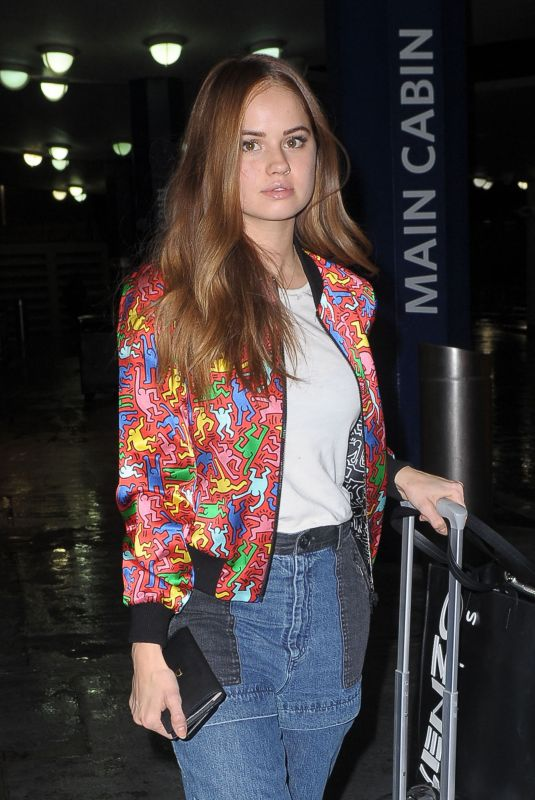 DEBBY RYAN at JFK Airport in New York 11/16/2018