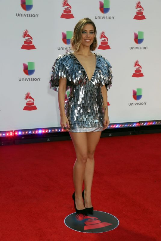 DEBI NOVA at 2018 Latin Grammy Awards in Las Vegas 11/15/2018