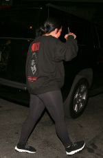 DEMI LOVATO Out for Coffee in West Hollywood 11/05/2018
