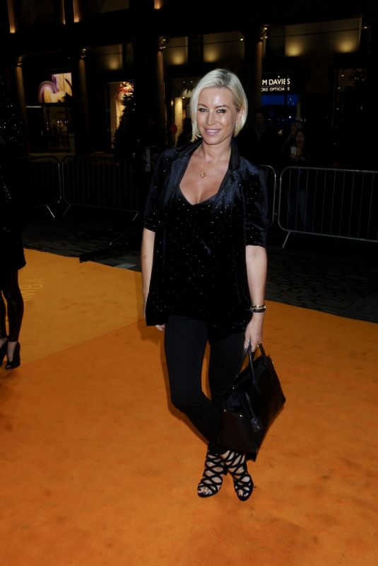 DENISE VAN OUTE at Sushisamba Launch in Covent Garden in London 11/12/2018