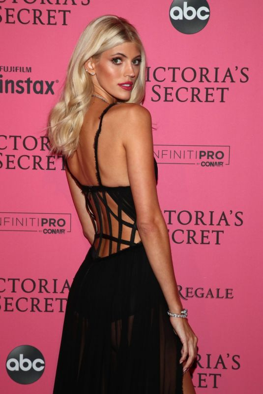 DEVON WINDSOR at VS Fashion Show Afterparty in New York 11/07/2018