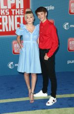 DEVORE LEDRIDGE at Ralph Breaks the Internet Premiere in Hollywood 11/05/2018