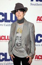DIANE WARREN at Aclu Bill of Rights Dinner in Beverly Hills 11/11/2018