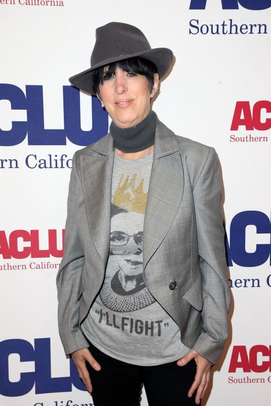 DIANE WARREN at Aclu Bill of Rights Dinner in Beverly Hills 11/11/2018