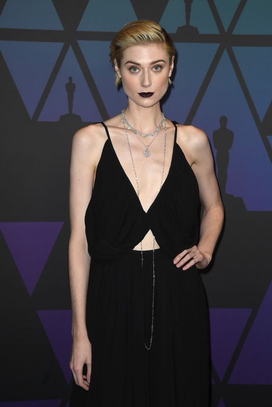 ELIZABETH DEBICKI at Governors Awards in Hollywood 11/18/2018