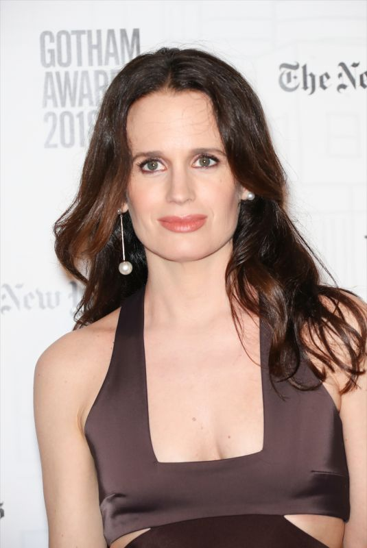 ELIZABETH REASER at Gotham Indepedent Film Awards 2018 in New York 11/26/218