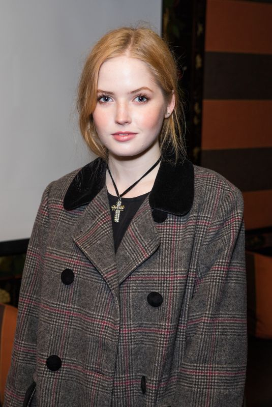 ELLIE BAMBER at Vent Screening and Release in London 11/16/2018