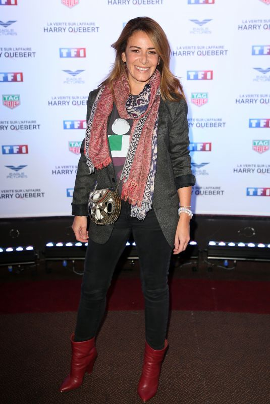 ELSA FAYER at Truth About the Harry Quebert Affair Premiere in Paris 11/12/2018