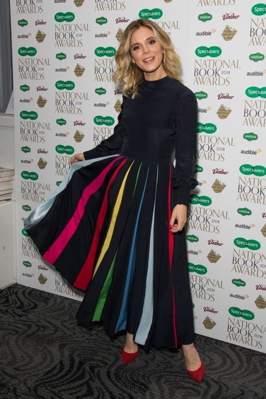 EMILIA FOX at Specsavers National Book Awards in London 11/20/2018