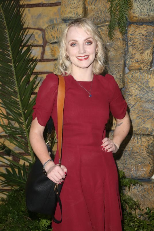 EVANNA LYNCH at Mowgli Premiere in Los Angeles 11/28/2018