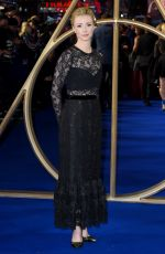 FIONA GLASCOTT at Fantastic Beasts: The Crimes of Grindelwald Premiere in London 11/13/2018