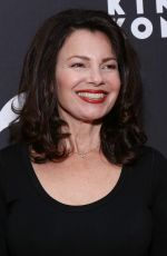 FRAN DRESCHER at King Kong Opening Night at Broadway in New York 11/08/2018