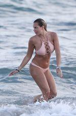 FRANCESCA BRAMBILLA in Bikini at a Beach in Miami 11/23/2018