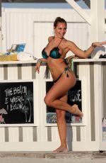 FRANCESCA BRAMBILLA in Bikinis at a Beach in Miami 11/21/2018