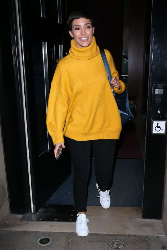FRANKIE BRIDGE Leaves Strictly Come Dancing: It Takes Two in London 11/02/2018