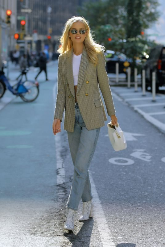FRIDA AASEN at Victoria's Secret Fashion Show Fittings in New York 11/01/2018