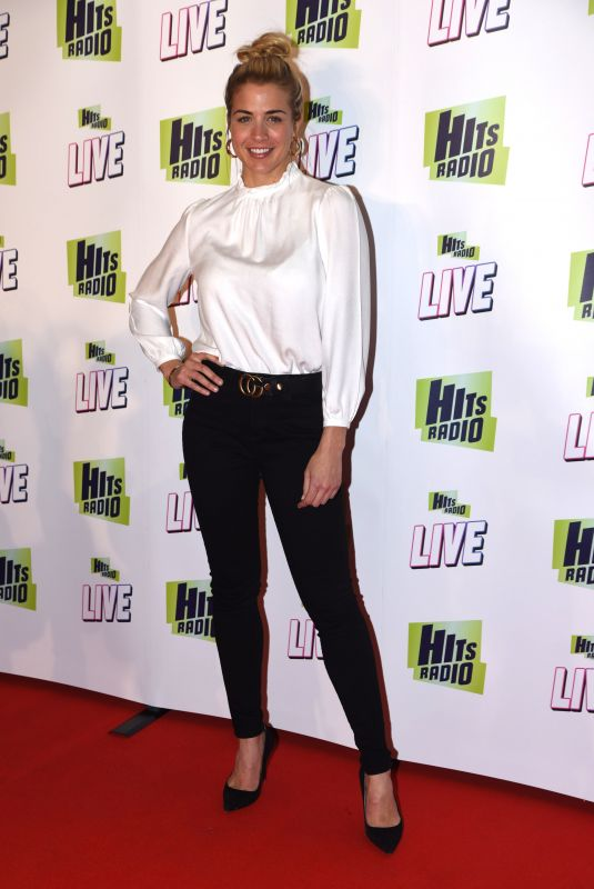 GEMMA ATKINSON at Hits Radio Live in Manchester 11/25/2018