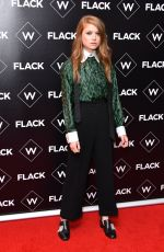 GENEVIEVE ANGELSON at Flack UKTV Premiere in London 11/13/2018