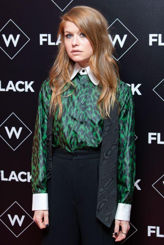 GENEVIEVE ANGELSON at Flack UKTV Premiere in London 11/13/2018