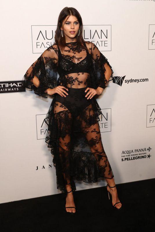 GEORGIA FOWLER at 2018 Australian Fashion Laureate Awards in Sydney 11/20/2018