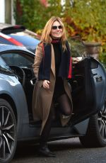 GERI HALLIWELL Out and About in London 11/21/2018
