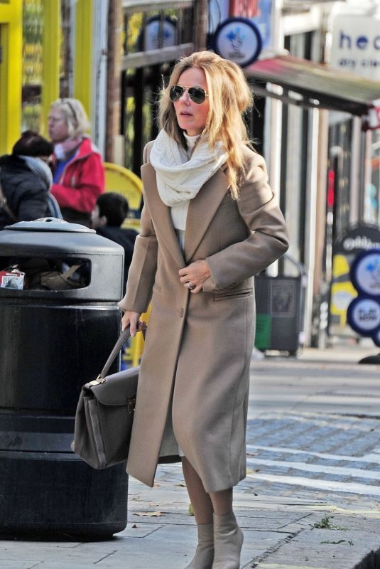 GERI HALLIWELL Out in London 11/03/2018