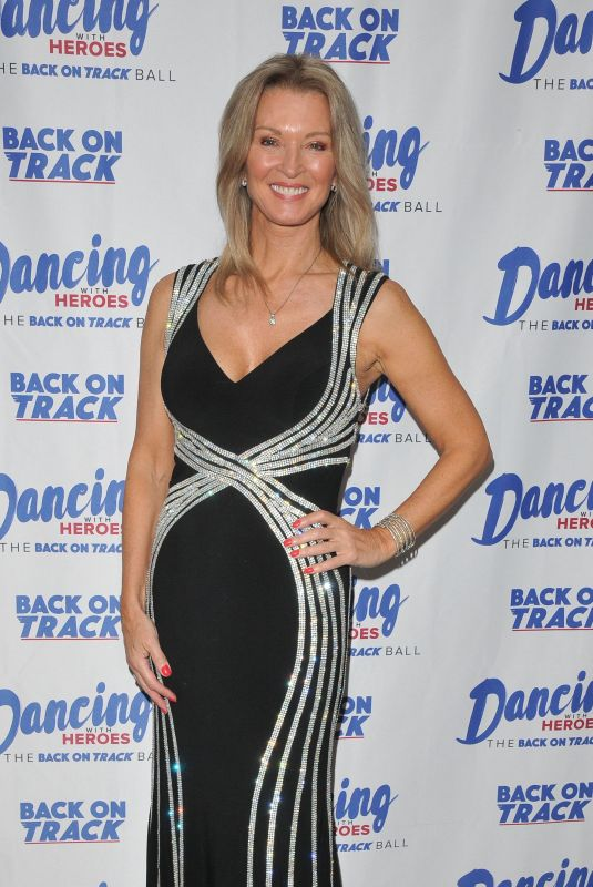 GILLIAN TAYLFORTH at Dancing with Heroes Charity Fundraiser in London 11/24/2018