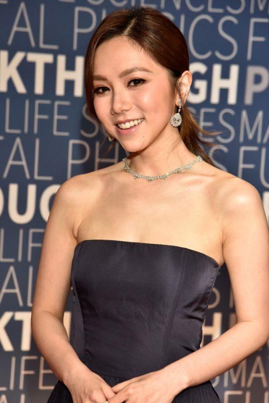 GLORIA TANG TSZ-KEI at 2019 Breakthrough Prize in Mountain View 11/04/2018