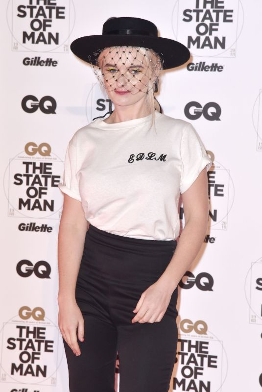 GRACE CHATTO at GQ Magazine 30th Anniversary Party in London 10/29/2018