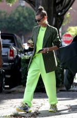 HAILEY BIEBER Out and About in West Hollywood 11/29/2018