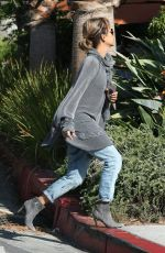 HALLE BERRY Out and About in Los Angeles 11/24/2018