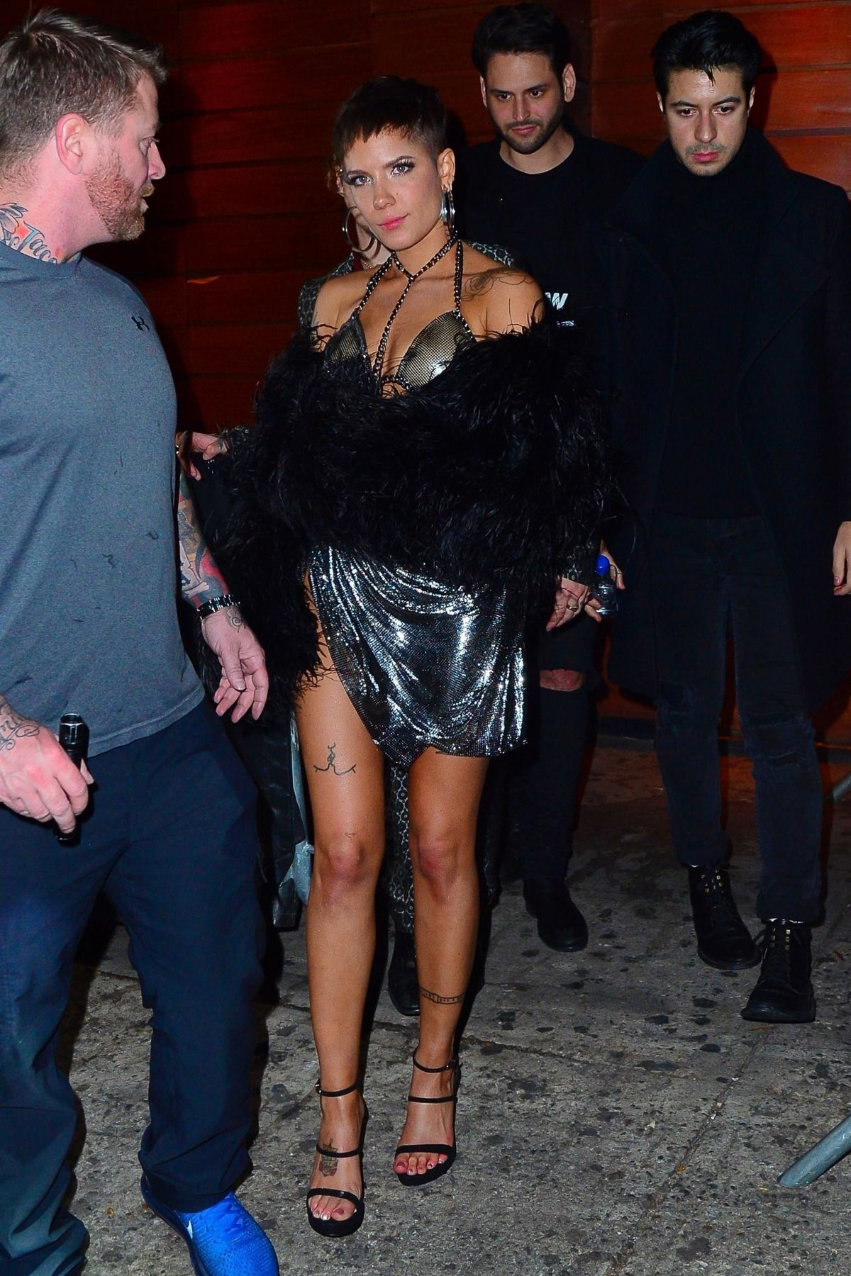 Halsey Leaves Victoria S Secret Fashion Show After Party In New York