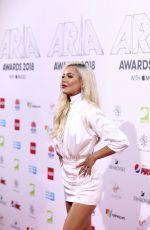 HAVANA BROWN at Aria Award 2018 in Sydney 11/28/2018