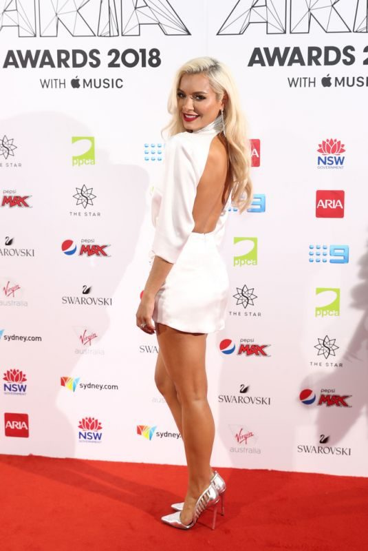 HAVANA BROWN at Aria Award 2018 in Sydney 11/28/2018