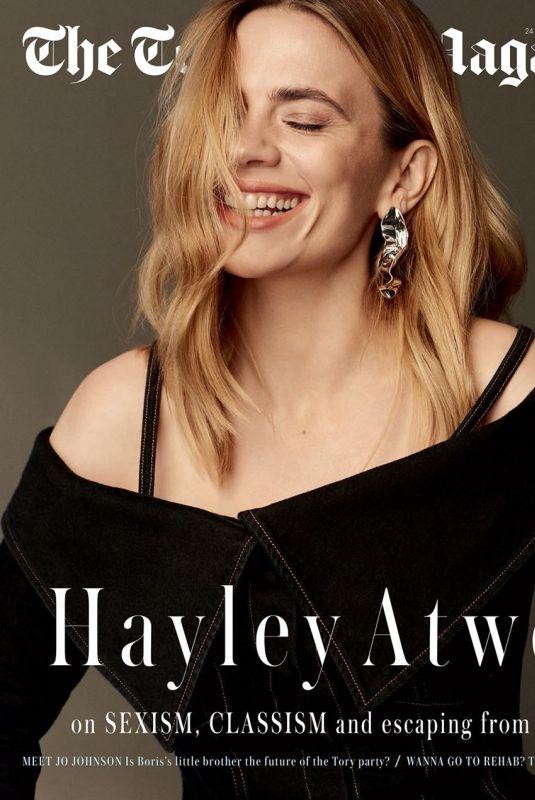HAYLEY ATWELL for Telegraph Magazine, November 2018