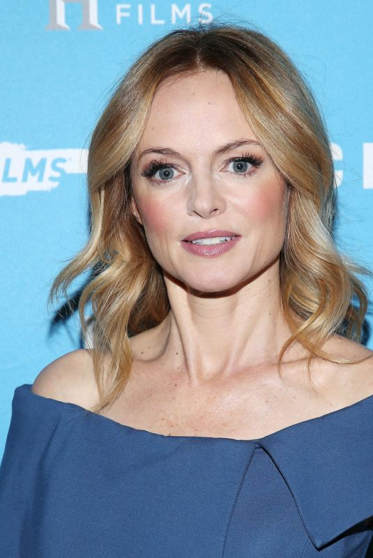 HEATHER GRAHAM at This Changes Everything Premiere in New York 11/14/2018