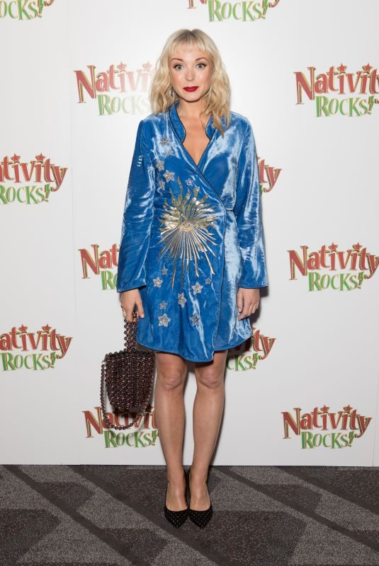 HELEN GEORGE at Nativity Rocks! Screening in London 11/04/2018