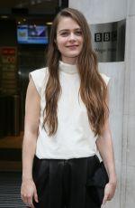 HERA HILMARSDOTTIR Promotes Her New Movie Mortal Engine in London 11/26/2018
