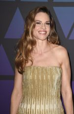 HILARY SWANK at Governors Awards in Hollywood 11/18/2018