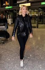 HOLLY WILLOGHBY at Heathrow Airport in Longford 11/09/2018
