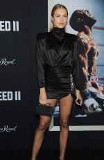 IDA LUNDGREN at Creed II Premiere in New York 11/14/2018