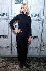 IMOGEN POOTS at AOL Build in New York 11/15/2018