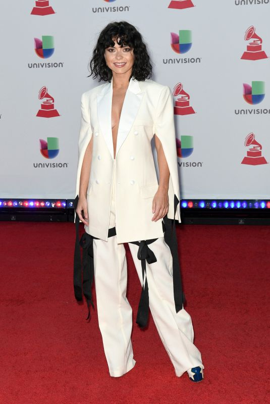 INNA at 2018 Latin Grammy Awards in Las Vegas 11/15/2018