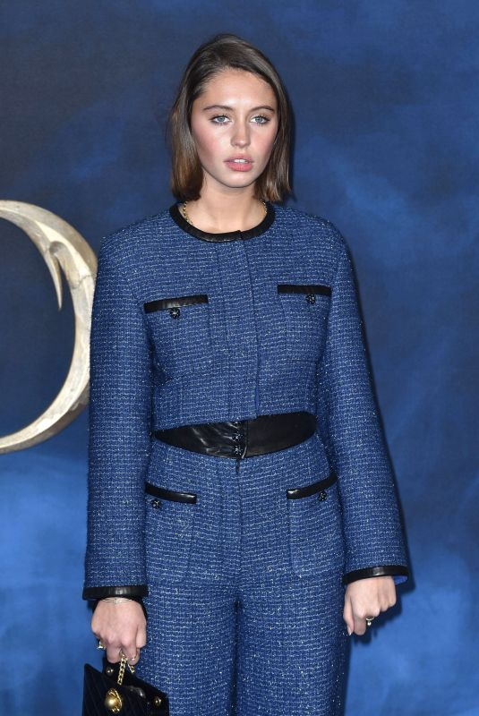 IRIS LAW at Fantastic Beasts: The Crimes of Grindelwald Premiere in London 11/13/2018
