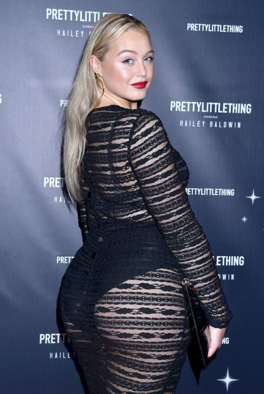ISKRA LAWRENCE at Prettylittlething Starring Hailey Baldwin Event in Los Angeles 11/05/2018