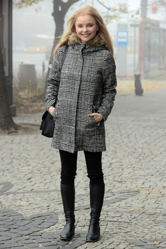IZBELLA MIKO Out and About in Warsaw 11/10/2018