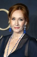 J.K. ROWLING at Fantastic Beasts: The Crimes of Grindelwald Premiere in London 11/13/2018